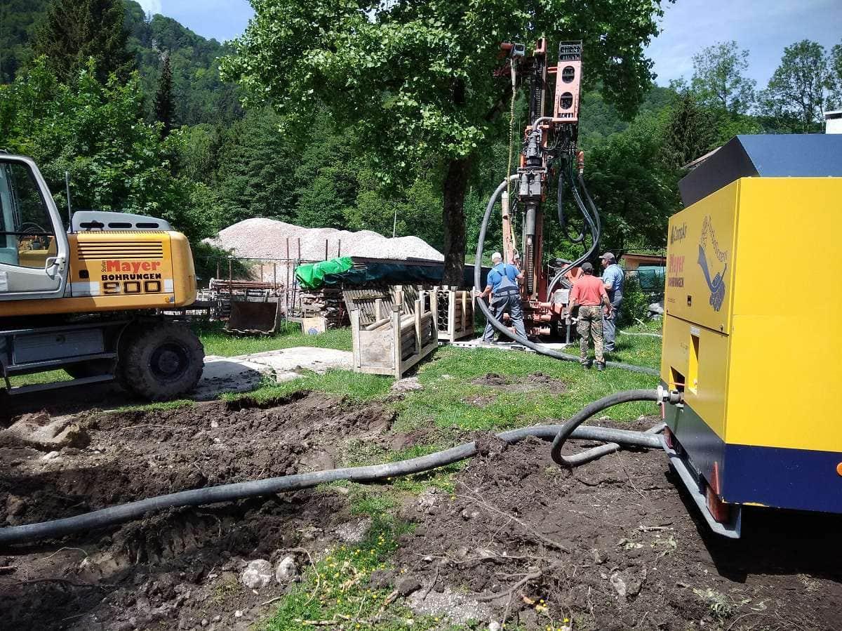 Geothermie-Bohrungen
