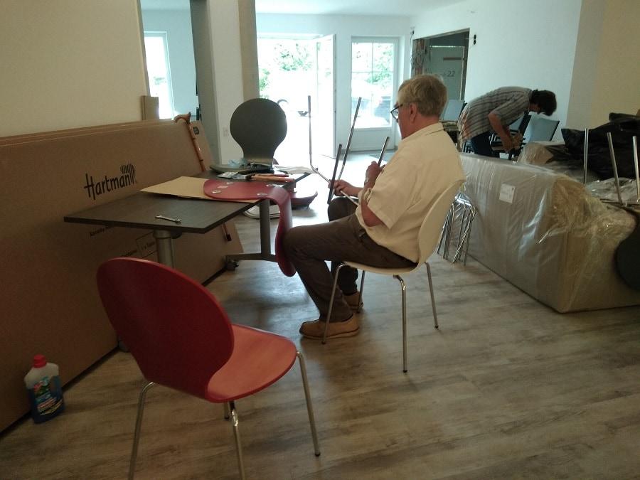 Lutz und die Stühle